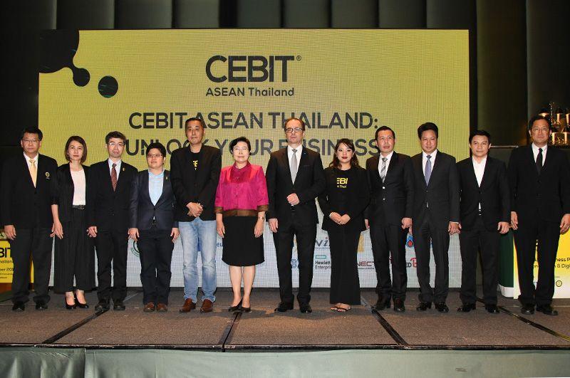 CEBIT ASEAN Thailand Elevates Thai Entrepreneurs into Technology and Digital Era of Thailand