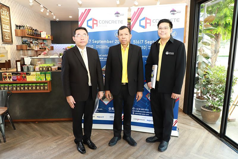Department of Public Works and Town & Country Planning participates in CONCRETE ASIA