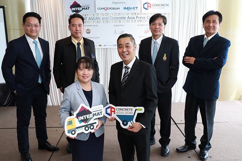 INTERMAT ASEAN and CONCRETE Asia – transforming the Thai construction industry in the 4.0 era