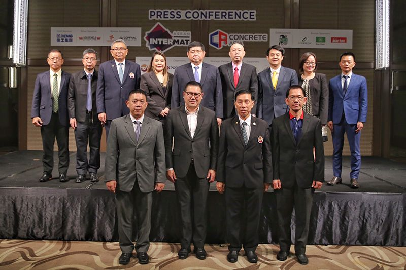 INTERMAT ASEAN and CONCRETE ASIA – Supporting Thai Transportation Mega Projects